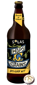 Solas Hops & Grains Belgian Wit